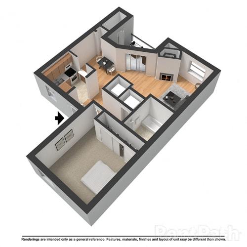 Floor Plan  The Blakely