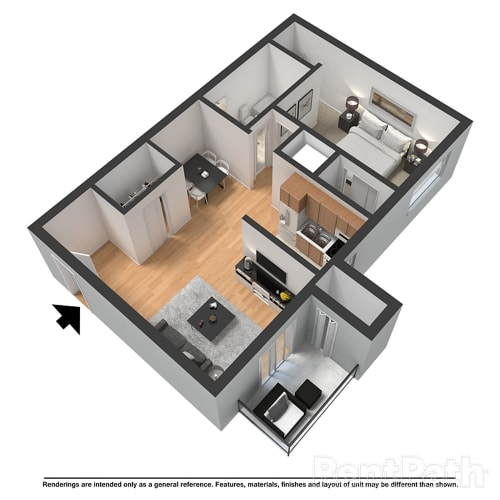 Floor Plan  The Carlyle