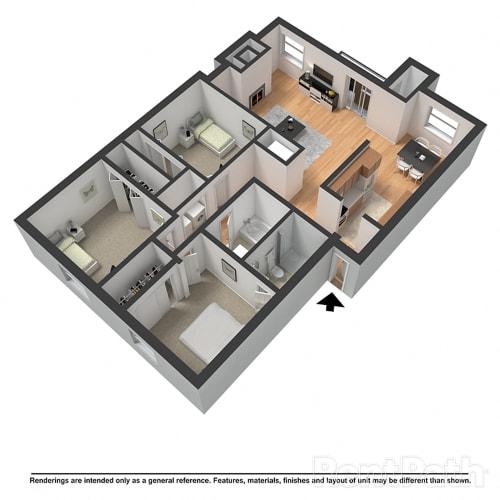 Floor Plan  The Charleston