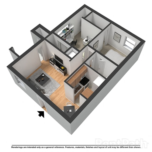 Floor Plan  The Melrose