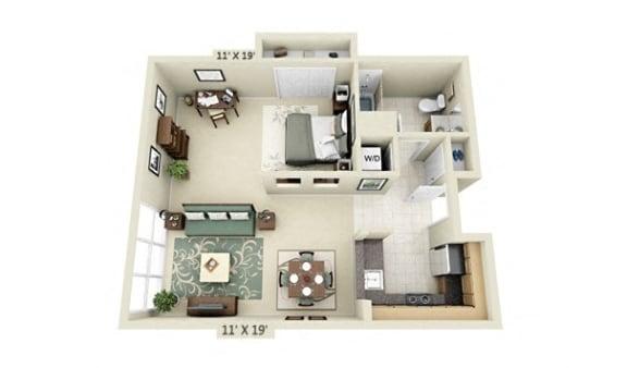 Floor Plan  Studio