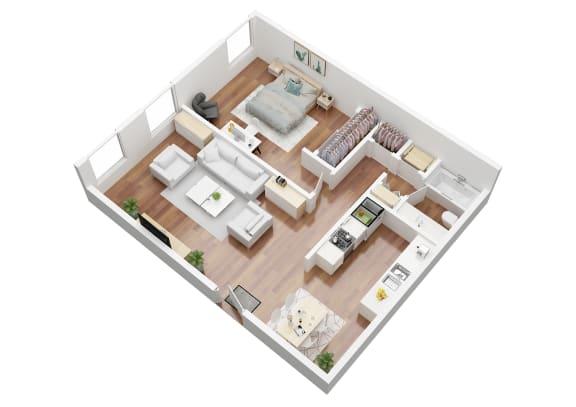 Floor Plan  Acapulco