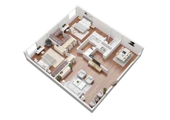 Floor Plan  St. Lucia