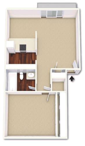 Floor Plan  The Azalea