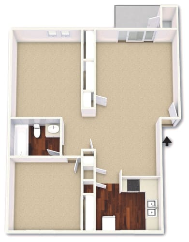 Floor Plan  The Magnolia