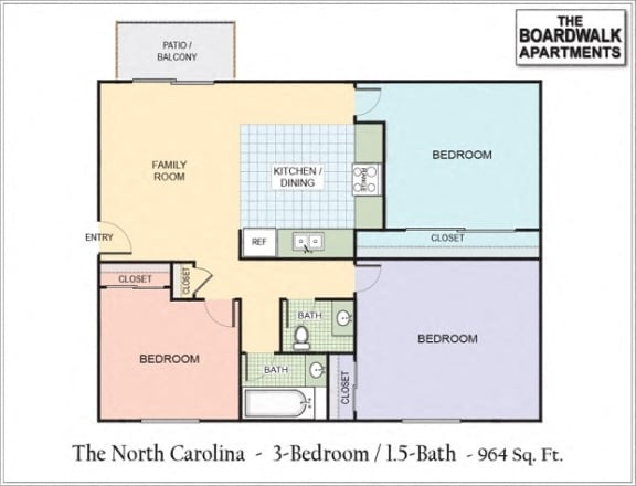 Floor Plan  North Carolina (NC)