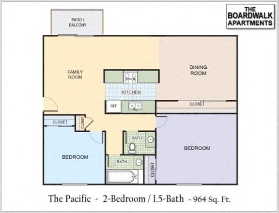 Floor Plan  Pacific (P)