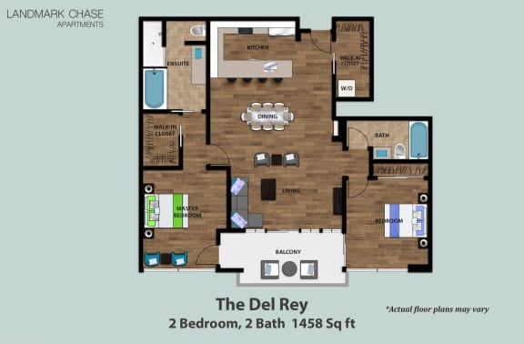 Floor Plan  The Del Rey