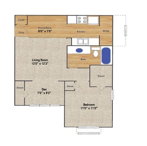 Floor Plan  Vail