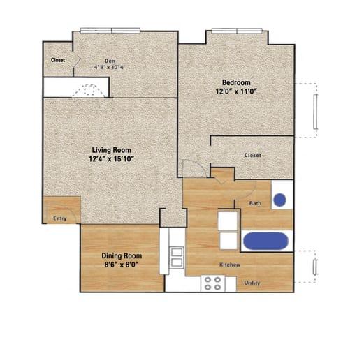 Floor Plan  Rosemeade