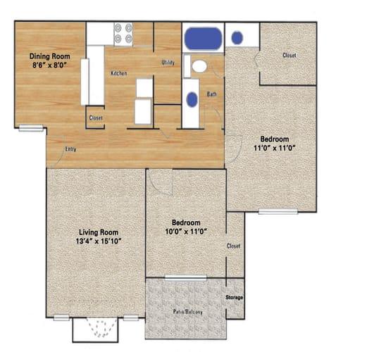 Floor Plan  Windhaven