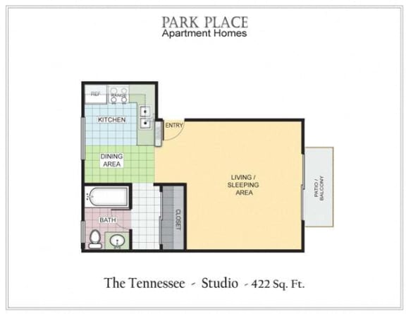 Floor Plan  Tennessee