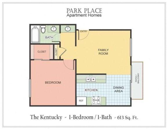 Floor Plan  Kentucky