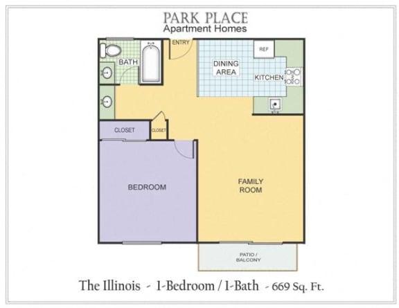 Floor Plan  Illinois