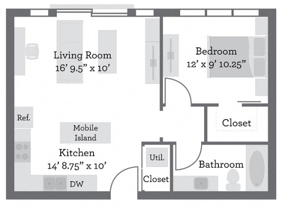 Floor Plan  THE GRANT - Clark