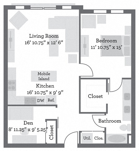 Floor Plan  THE GRANT - Greene