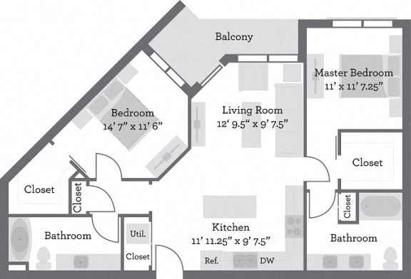 Floor Plan  THE FILLMORE - Pendelton