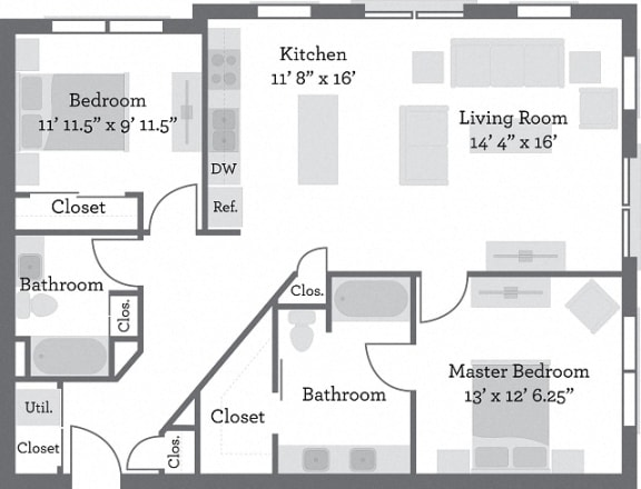 Floor Plan  THE FILLMORE - Dearborn