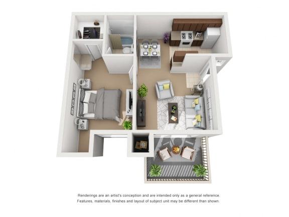 Floor Plan  Unit Image at Knollwood Meadows Apartments, Santa Maria