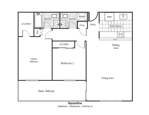 Floor Plan  Byzantine