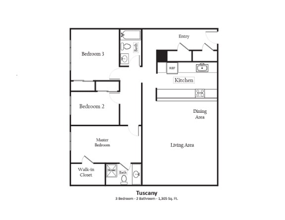 Floor Plan  Tuscany