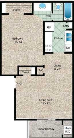 Floor Plan  La Arena