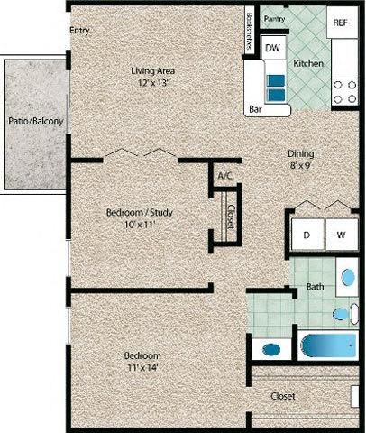 Floor Plan  La Costa