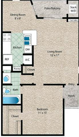 Floor Plan  La Fuente