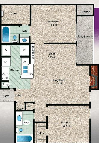 Floor Plan  El Lago