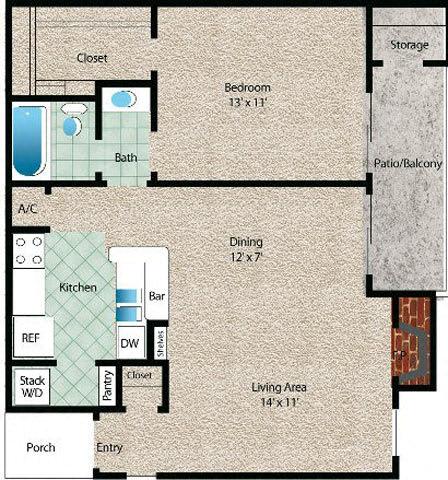 Floor Plan  La Luna