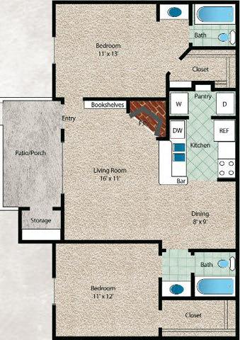 Floor Plan  El Mar