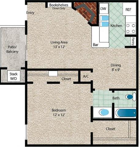 Floor Plan  La Palma
