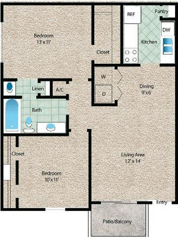 Floor Plan  La Vista