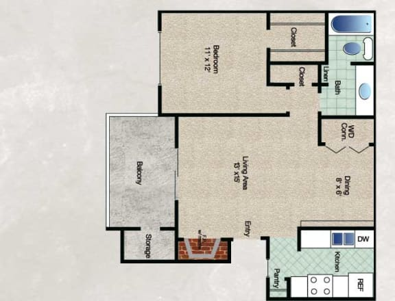 Floor Plan  The Cedar