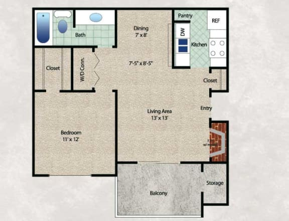 Floor Plan  The Woodland