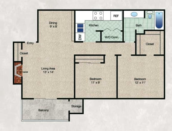 Floor Plan  The Meadow