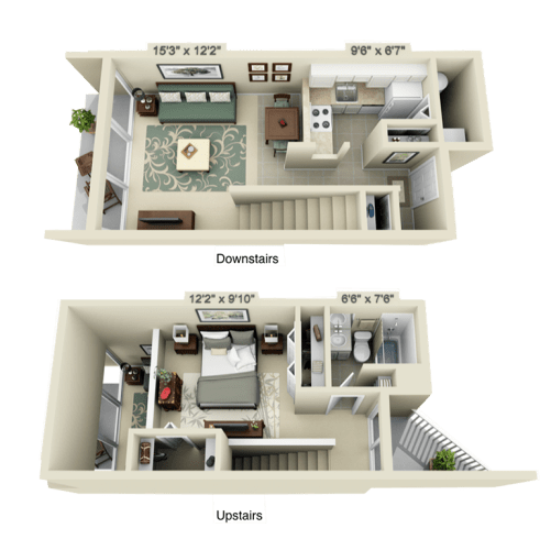 Floor Plan  Phase 2 Townhouse, opens a dialog.