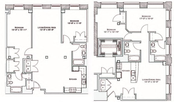Floor Plan  Live/Work Apartment in Downtown Haverhill