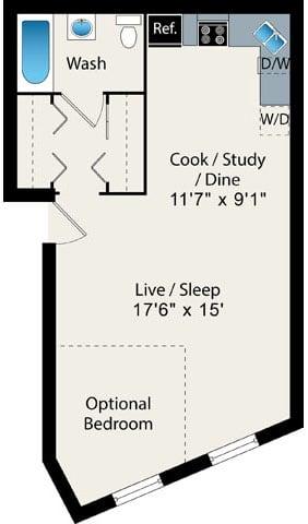 Floor Plan  Convertible floor plan