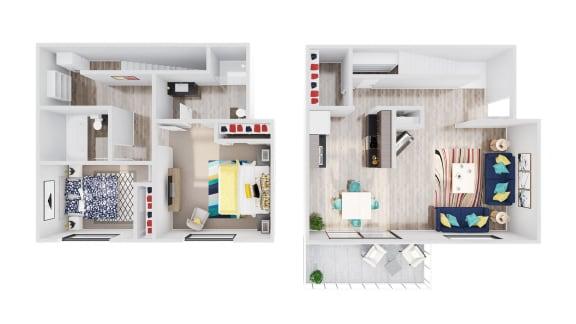 Floor Plan  98Hundred Apartments Aspen Floor Plan