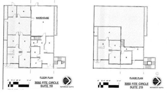 Floor Plan  Sierra Business Center Floor Plan Example B