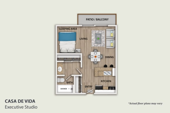 Floor Plan  Executive