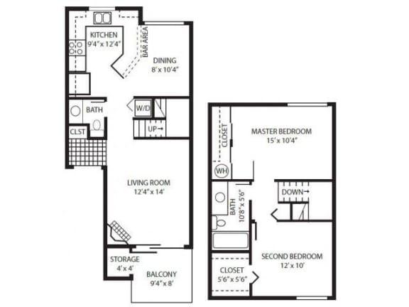 Floor Plan  Town House A