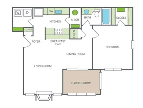 Floor Plan  Renovated Roswell (A3R)