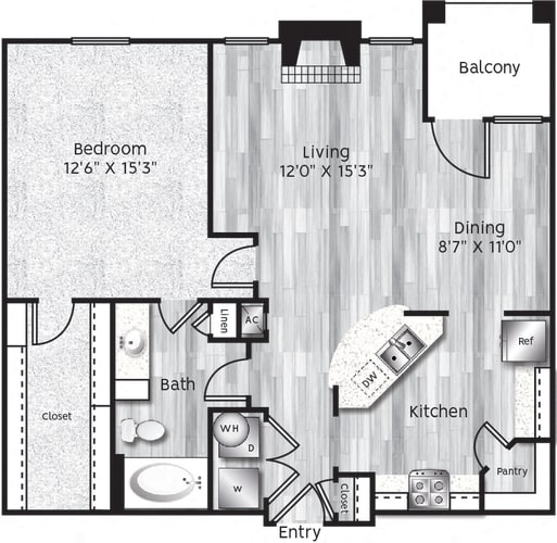 Floor Plan  A4-LA GARAGE