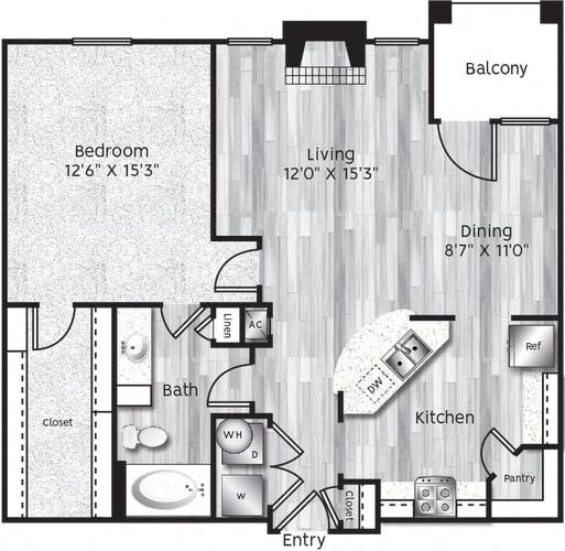 Floor Plan  A4-LL GARAGE