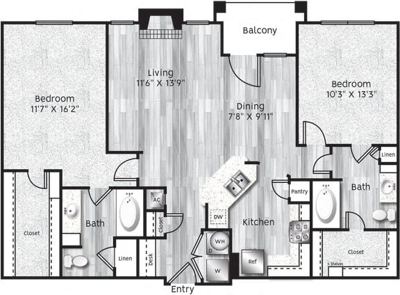 Floor Plan  B3-LA GARAGE