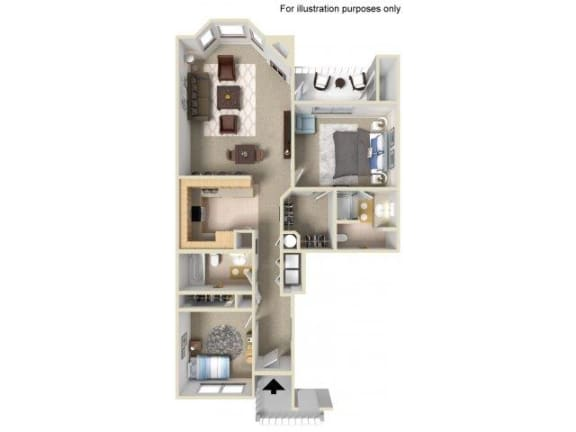 Floor Plan  2x2s