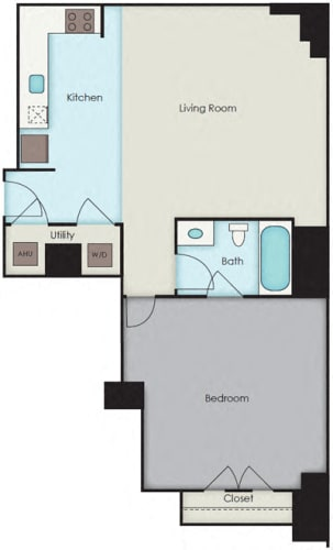Floor Plan  First National Apartments -  Byrd Plan