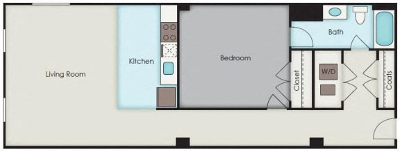 Floor Plan  First National Apartments - Stanley Plan